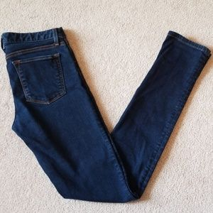 Banana Republic dark skinny jeans